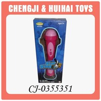 Kid mini plastic karaoke microphone toy for sale