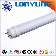 1w smd led t8 fluorescent tube lighting for office ETL DLC TUV SAA C-Tick CE RoHS approved