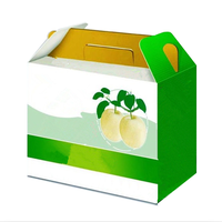 Wholesale Cheap Corrugated Cardboard Food Packaging Fruit Carton Box