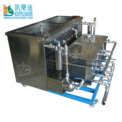 Industrial Ultrasonic Cleaning Machine with cycling & filtering