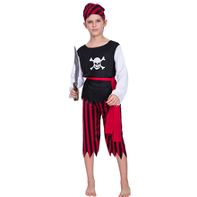 Hot sale children boys pirate Halloween costume kids Carnival party cosplay costumes role play