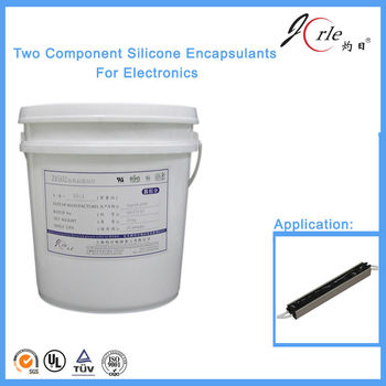room temperature curing silicone based potting glue