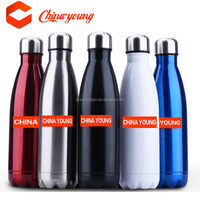 Hot sale bullet cola shaped double wall vacuum insulated stainless steel water bottle