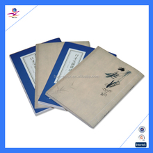 High quality recycled paper book printing