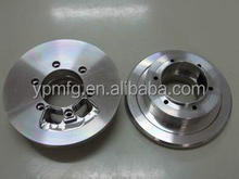 High performance aluminum crank pulley
