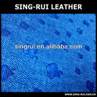 pu synthetic soft canvas leather