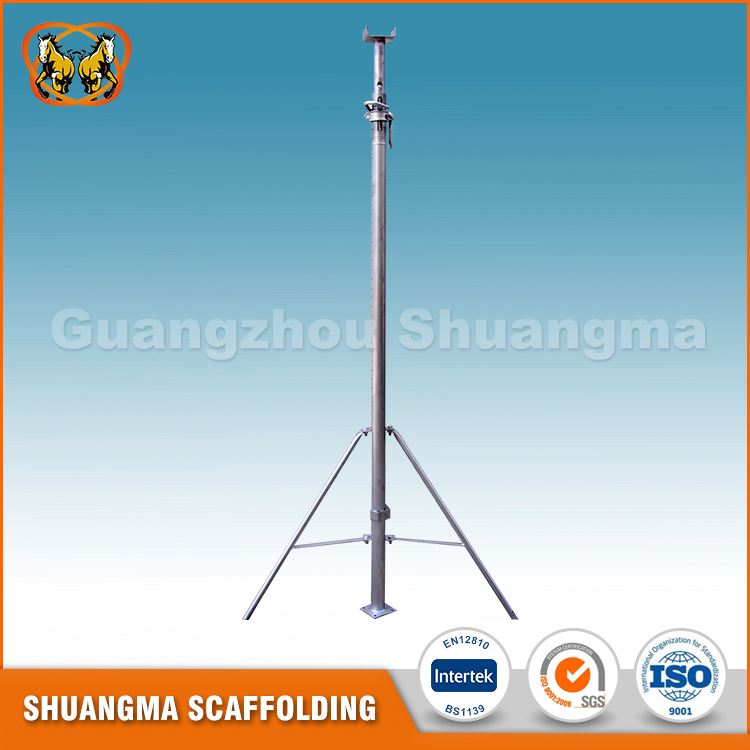 Guangzhou painted adjustable construction scaffolding prop