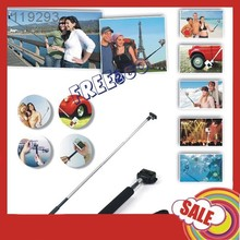 Self Timer Telescopic Handheld Monopod with Tripod Mount Clip Adapter for Camera / Galaxy note 1 2 3 S3 S4 S5 /iphone 4 5 6
