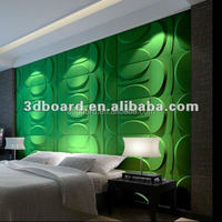 New 3D Waterproof Embossed Papel De Parede PVC decorative 3d Wall Panels