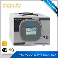 Home SRFII-4KVA~12KVA 3KW~10KW 110-275VAC 220V LCD digital Relay type AC automatic power voltage regulator/stabilizer/AVR