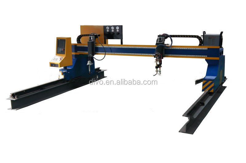 heavy duty gantry type cnc cutters/3d plasma robot/machinery
