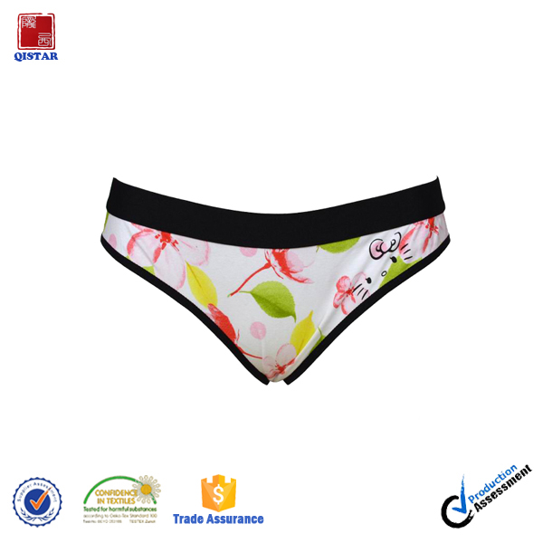 High Quality Customized Print Women Panties Underwear of Women