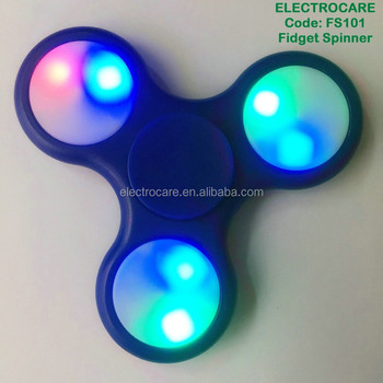 hot sell led fidget spinner relieves stress and anxiety FS201