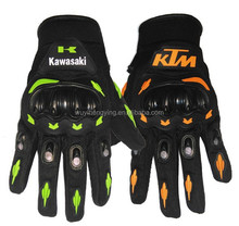 outdoor breathable KTM gloves motorcycle with plastic protector for motocross Bicycle dirt bike atv