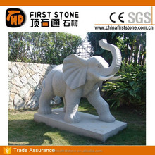GAB598 Stone Elephant Large Outdoor Statues