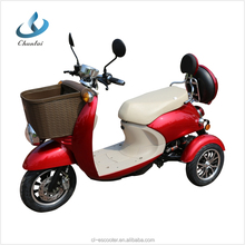 60v 500w hot sale cheap electric tricycle scooter for adults