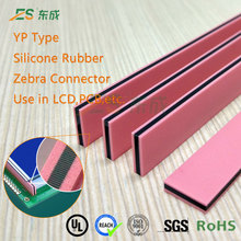 LCD Zebra Rubber Strip Silicone Conductive Rubber Zebra Rubber