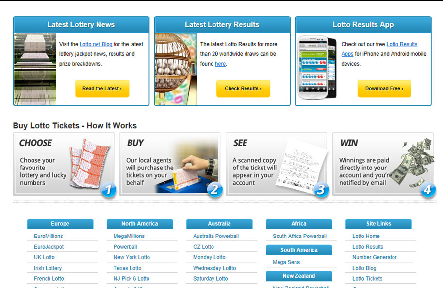 Mobile Lottery System Development