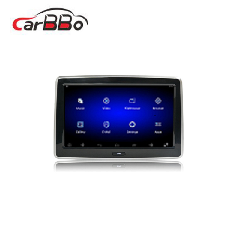 <strong>Manufactur</strong> 10.1'' 1080P full hd android embedded touch screen car headrest monitor advertising for cars
