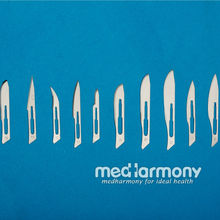sharp point surgical blades