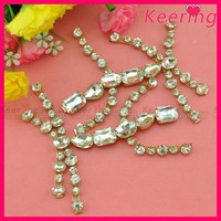 wholesale shoe buckles fashion rhinestone buckle WCK-1053