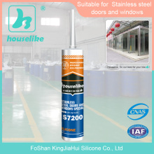 Foshan good quality liquid steel adhesive stainless silicone caulks