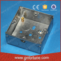 Decorative 25mm deep small electrical junction box
