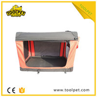 Popular Latest Design pet crate soft dog kennel cages for sale