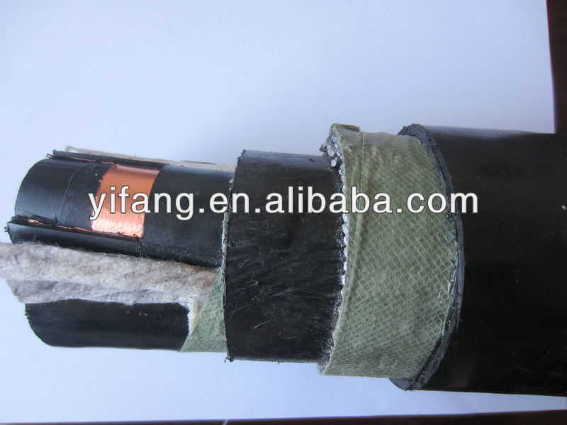 Submarine middle voltage cable
