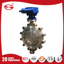 Made in China silver color Handly Butterfly valve Leading PN16 semi-lug pneumatic butterfly valve for high corrosion