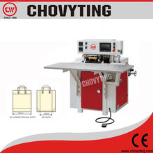 plastic bag handle attaching machine/bag handle welding machine