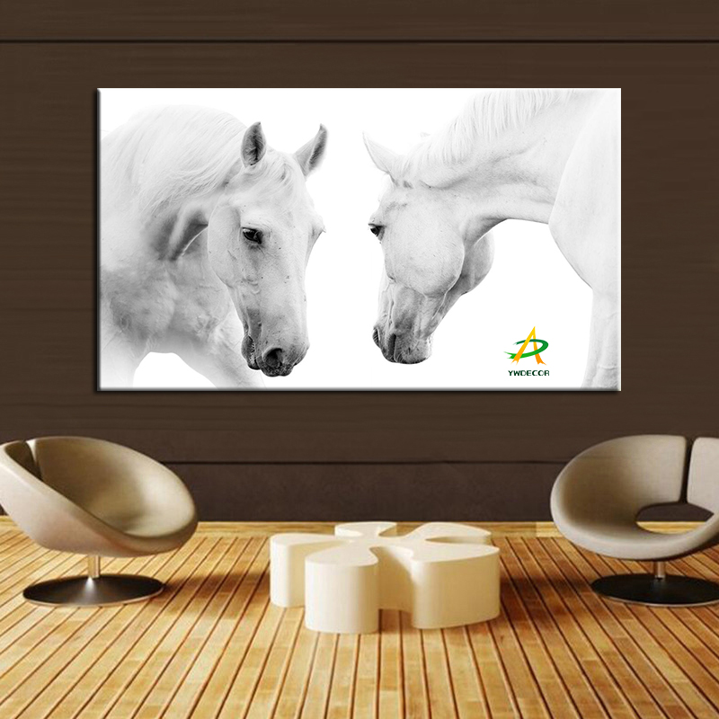 Factory price Pop Art Canvas Prints Framed Digital Canvas Prints horse Print Canvas Painting For Living Room