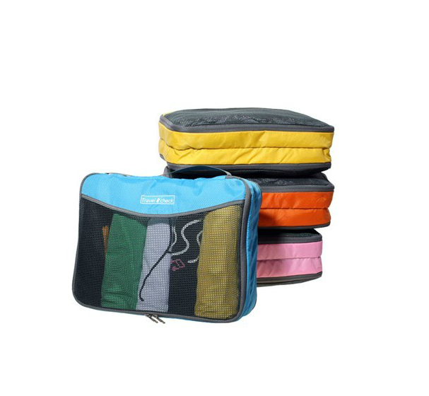 Jiafa <strong>travel</strong> check double zip slazenger <strong>travel</strong> bag net cosmetic bag promotional