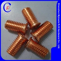Copper plating Steel M4 welding studs for factory
