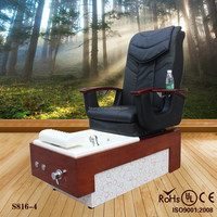 Black color kids spa pedicure chair/beauty salon equipment foot spa chair(S816-4)