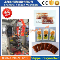Sachet Sauce Filling and Sealing Machine for 15g 50g 200g