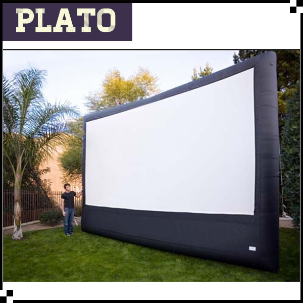 outdoor inflatable movie screen, Oxford inflatable projector screen
