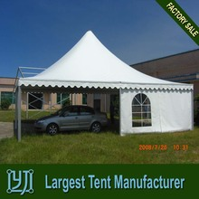High peak 8x8 pagoda pvc tent for sale