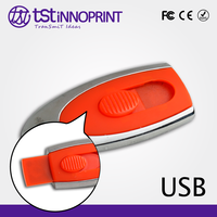 Shining High Quality Custom Color & Print Metal USB Stick