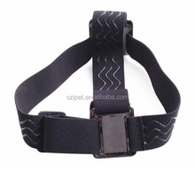 in stock high quality Elastic Adjustable Head Strap For Go Pro He ro 4 3+/3/2/1, with anti-slide , with storage bag