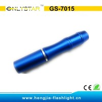 GS-7015 Alibaba Assurance aluminum 0.5 W mini led lights for crafts medical led penlight