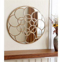 Round antique gold venice Framed Mirror for home/wall decoration
