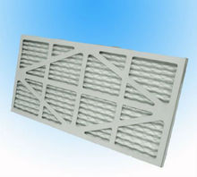 Air conditioning paper furnace panel air filter f7
