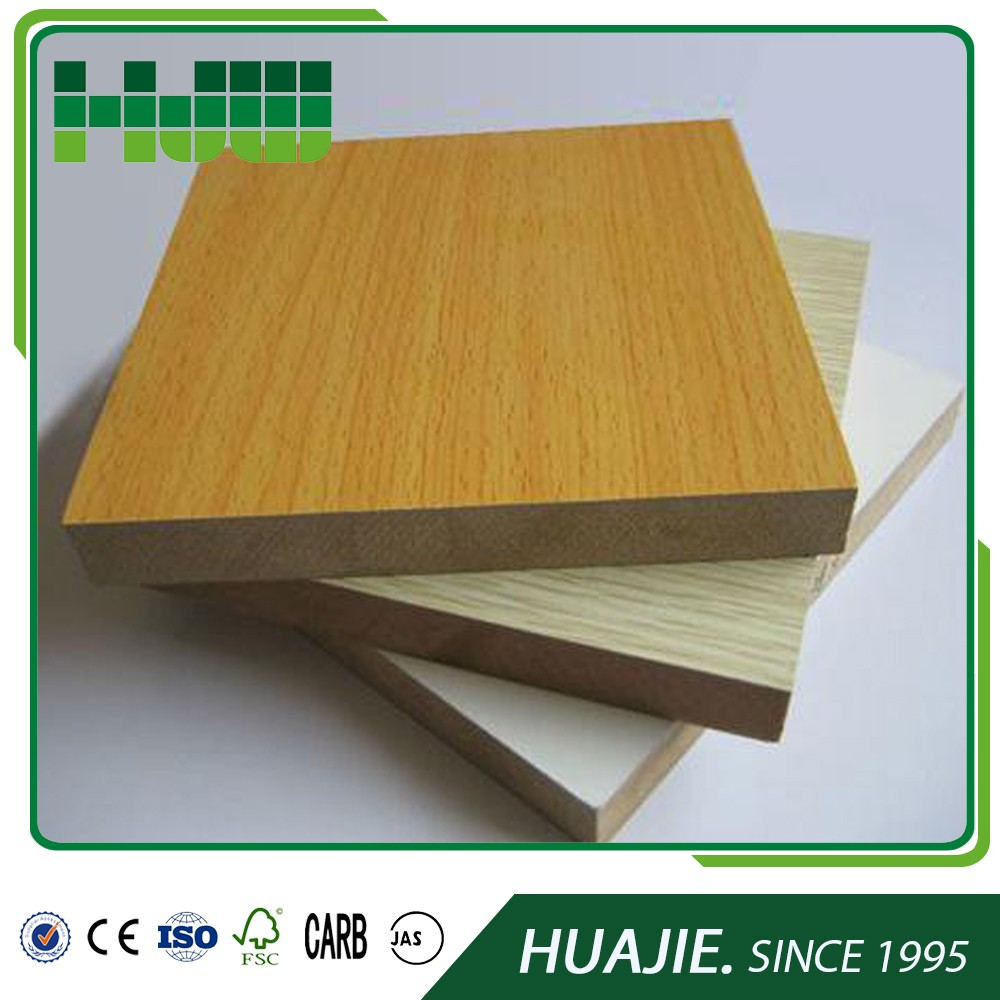 China manufacturer E2 <strong>12mm</strong> <strong>oak</strong> veneer furniture mdf board