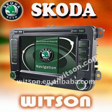 WITSON SKODA Octavia CAR RADIO TV DVD with FM,AM,RDS
