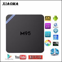 KODI 16.1 M9S MINI M9S PRO Amlogic S905x Android 6.0 tv tuner box for lcd monitor