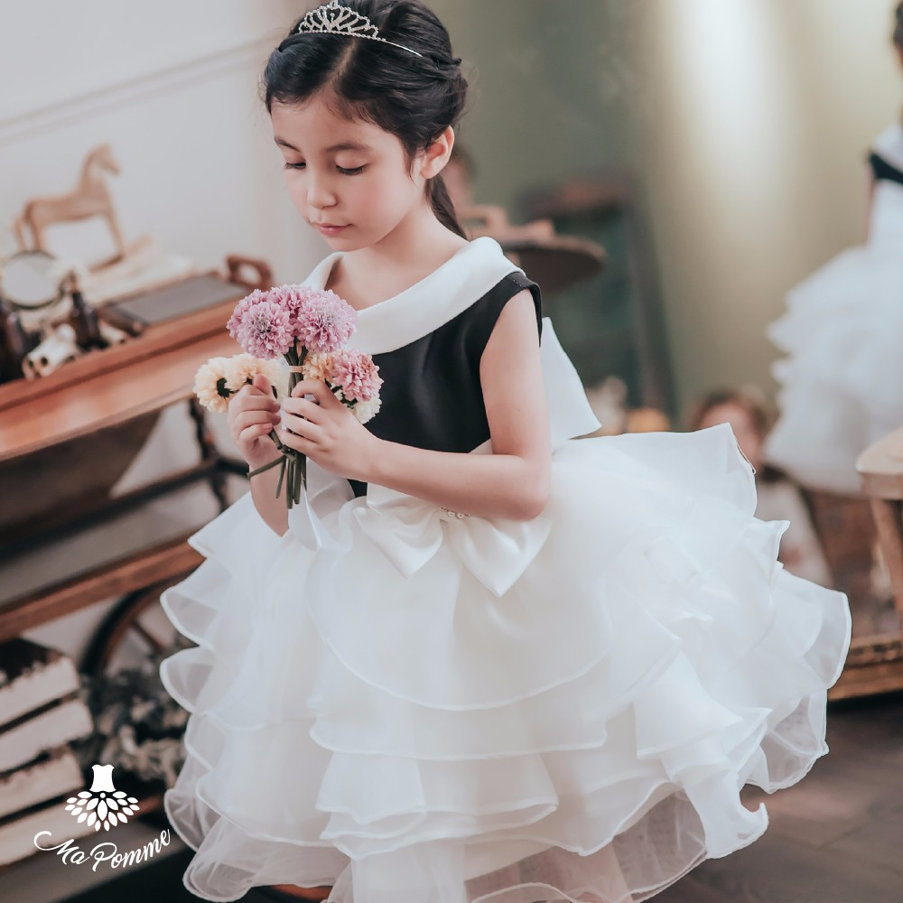 Europe Style Dignified Gorgeous Angel Girl Dress
