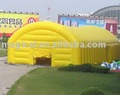 yellow storage inflatable tent/ inflatable garage tent/ storage shed tent