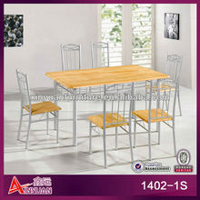 hot sale japanese simple white oak dining table and chairs set