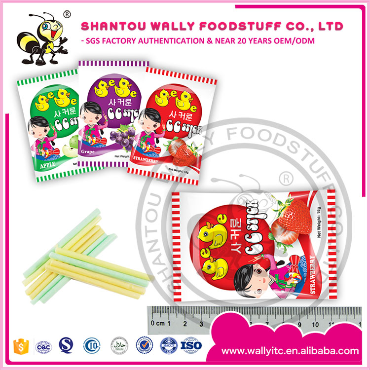 Halal Fruit CC Stick Candy CC Cream